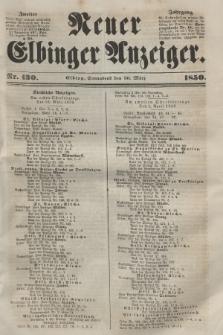 Neuer Elbinger Anzeiger, Nr. 130. Sonnabend, 30. März 1850