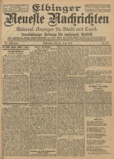 Elbinger Neueste Nachrichten, Nr. 177 Mittwoch 31 Juli 1912 64. Jahrgang