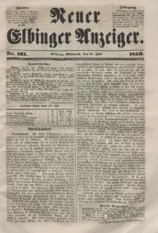 Neuer Elbinger Anzeiger, Nr. 161. Mittwoch, 17. Juli 1850