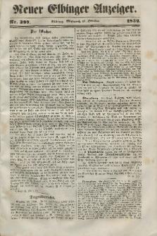 Neuer Elbinger Anzeiger, Nr. 397. Mittwoch, 13. Oktober 1852