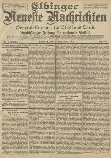 Elbinger Neueste Nachrichten, Nr. 207 Mittwoch 4 September 1912 64. Jahrgang