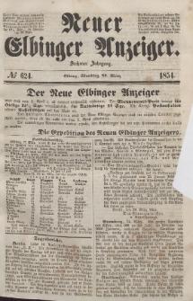 Neuer Elbinger Anzeiger, Nr. 624. Montag, 27. März 1854