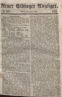 Neuer Elbinger Anzeiger, Nr. 641. Dienstag, 9. Mai 1854