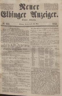 Neuer Elbinger Anzeiger, Nr. 642. Sonnabend, 13. Mai 1854