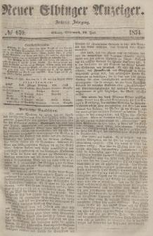 Neuer Elbinger Anzeiger, Nr. 670. Mittwoch, 19. Juli 1854