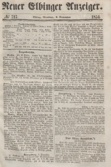 Neuer Elbinger Anzeiger, Nr. 717. Montag, 6. November 1854