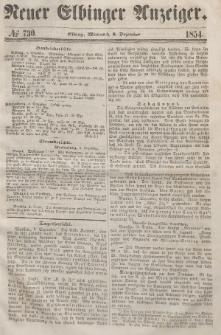 Neuer Elbinger Anzeiger, Nr. 730. Mittwoch, 6. Dezember 1854