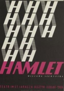 Hamlet - plakat teatralny