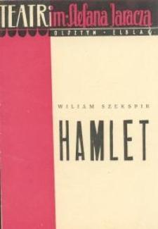 Hamlet - program teatralny