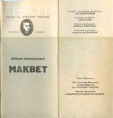 Makbet – program teatralny