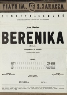 Berenika – afisz