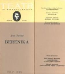 Berenika – program teatralny