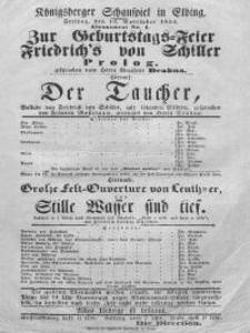 Der Taucher - Friedrich Schiller