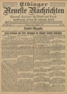 Elbinger Neueste Nachrichten, Nr. 236 Sonntag 6 Oktober 1912 64. Jahrgang
