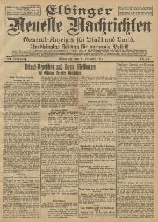 Elbinger Neueste Nachrichten, Nr. 237 Mittwoch 9 Oktober 1912 64. Jahrgang
