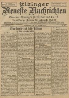 Elbinger Neueste Nachrichten, Nr. 238 Donnerstag 10 Oktober 1912 64. Jahrgang