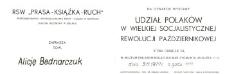 Udział Polaków w Wielkiej Socjalistycznej Rewolucji Październikowej – zaproszenie na wystawę