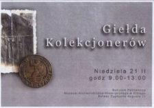 Giełda Kolekcjonerów w Elblągu - 21.02.2000 r.