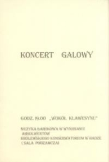 Wokół klawesynu – zaproszenie na koncert