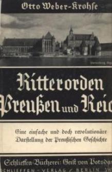 Ritterorden, Preußen und Reich