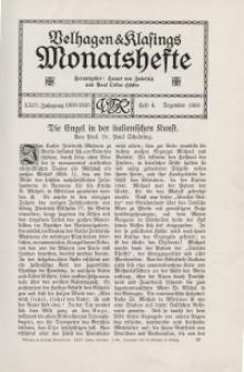 Velhagen & Klasings Monatshefte. Dezember 1909, Jg. XXIV. Bd. I, Heft 4.