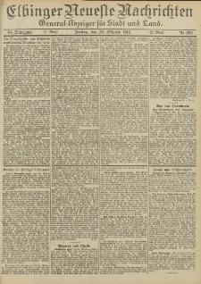 Elbinger Neueste Nachrichten, Nr. 254 Freitag 25 Oktober 1912 64. Jahrgang