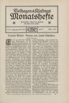 Velhagen & Klasings Monatshefte. März 1910, Jg. XXIV. Bd. II. Heft 7.
