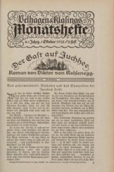 Velhagen & Klasings Monatshefte. November 1926, Jg. XLI. Heft 3.
