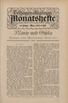 Velhagen & Klasings Monatshefte. Mai 1930, Jg. XLIV. Heft 9.