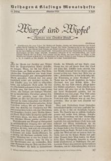 Velhagen & Klasings Monatshefte. Oktober 1938, Jg. LIII. Heft 2.