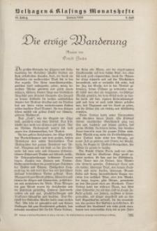 Velhagen & Klasings Monatshefte. Januar 1939, Jg. LIII. Heft 5.