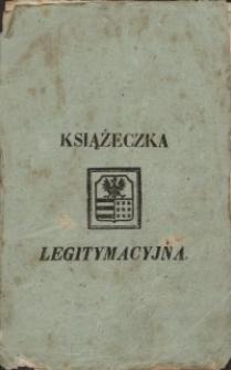 Legitymacja Maryanny Moledzińskiej