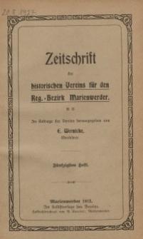 Zeitschrift des historischen Vereins für den Regierungsbezirk Marienwerder, H. 50