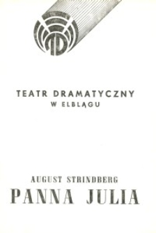 Panna Julia – program teatralny