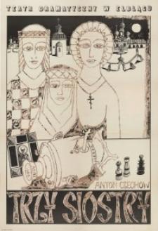 Trzy siostry – plakat teatralny