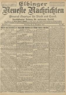 Elbinger Neueste Nachrichten, Nr. 265 Dienstag 5 November 1912 64. Jahrgang
