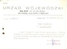 Repertuar Teatru Dramatycznego w Elblągu na sezon 1977/1978 – wykaz