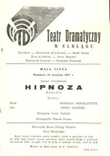 Hipnoza – program teatralny