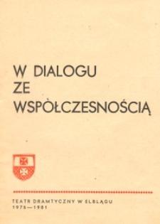 W dialogu ze współczesnością – biuletyn o teatrze