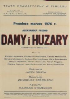 Damy i huzary – afisz