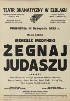 Żegnaj Judaszu – afisz