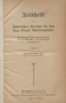 Zeitschrift des historischen Vereins für den Regierungsbezirk Marienwerder, H. 55