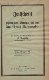 Zeitschrift des historischen Vereins für den Regierungsbezirk Marienwerder, H. 56