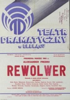 Rewolwer - afisz