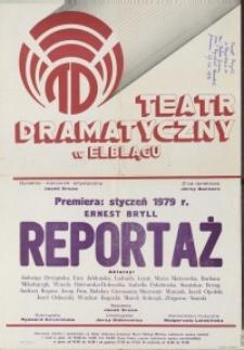 Reportaż – afisz