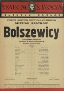 Bolszewicy – afisz