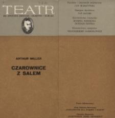 Czarownice z Salem – program teatralny