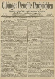 Elbinger Neueste Nachrichten, Nr. 286 Mittwoch 27 November 1912 64. Jahrgang