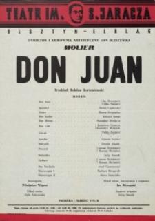 Don Juan – afisz