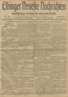 Elbinger Neueste Nachrichten, Nr. 289 Sonnabend 30 November 1912 64. Jahrgang